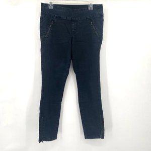 JAG JEANS High Rise Skinny Jeans Dark Wash Zip 8